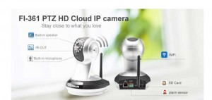 Fujikam home wireless security camera