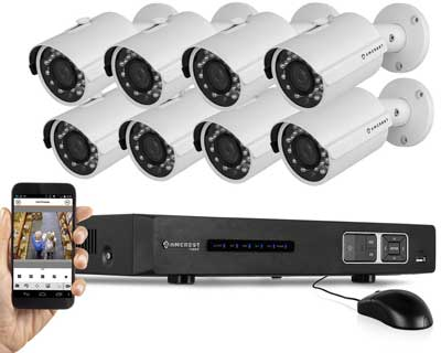 Amcrest 8 camera DVR