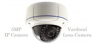 5MP varifocal lens ip security camera