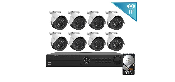 Laview 16 Channel Security Camera System Security Camera