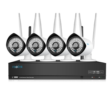Reolink 4 Channel 1080p wireless NVR