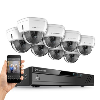 Amcrest 8 channel 4k security camera