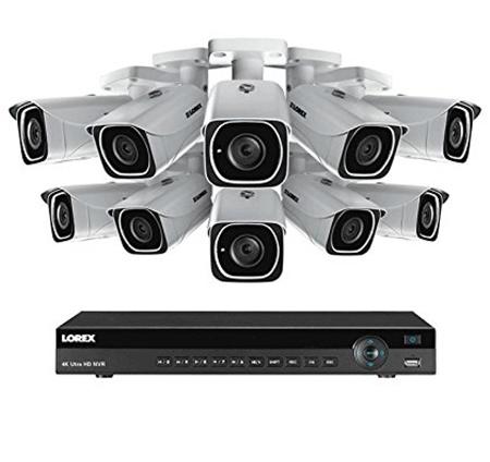 Lorex 16 channel 4k security kits