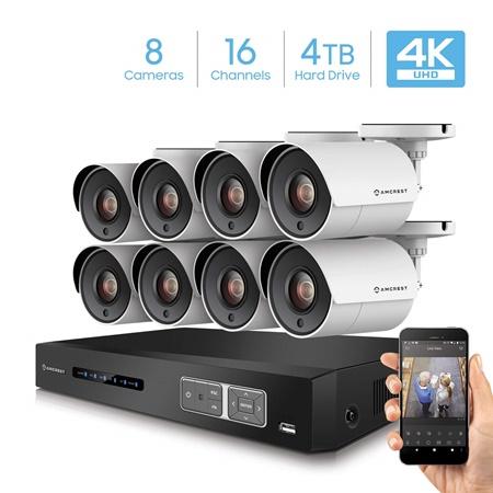 Amcrest 16 channel DVR system Kit