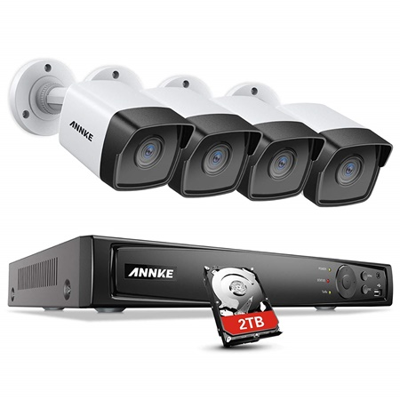 Annke 8 channel 4k security camera kit