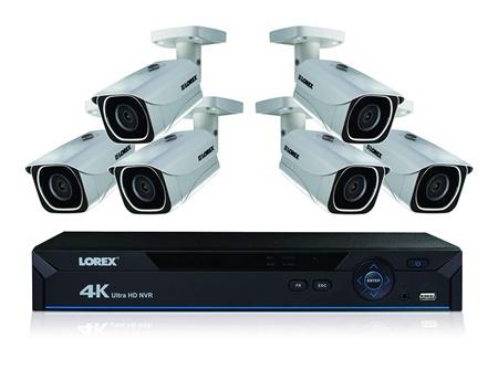 lorex 8 camera dvr system kit