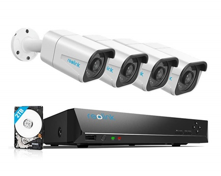 Reolink 4k 8 Channel Security camera system
