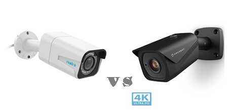 Amcrest ip8m-2496 vs Reolink B800 bullet camera
