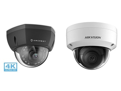 Amcrest ip8m-2493 vs Hikvision dome camera
