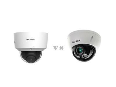 Laview vs Lorex dome cameras