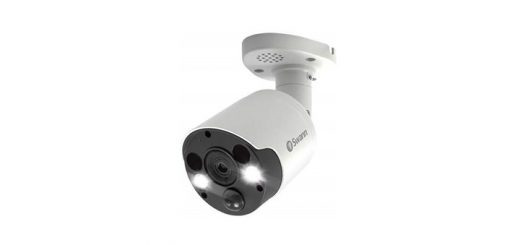 security camera with spotlight