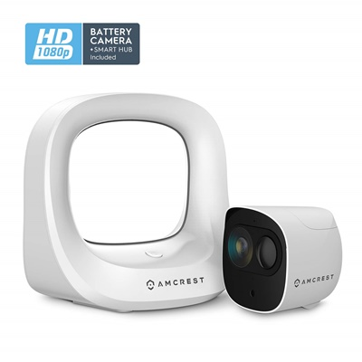 Amcrest wire-free camera system