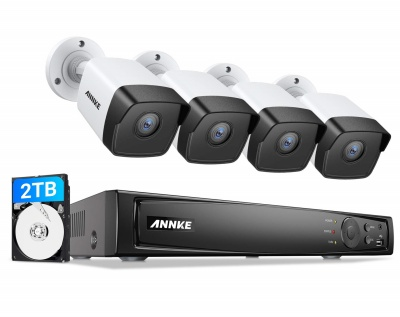 Annke 8 Channel color night vision