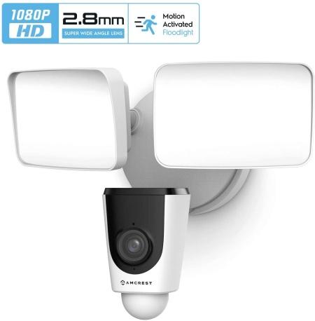 Amcrest ash26 floodlight camera