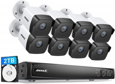 Annke 8 channel poe nvr color night vision