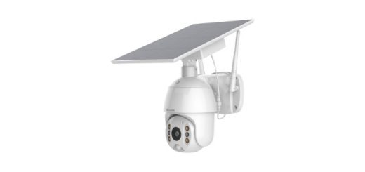 solar powered security camera
