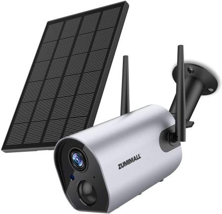 Zumimal wire-free solar power camera