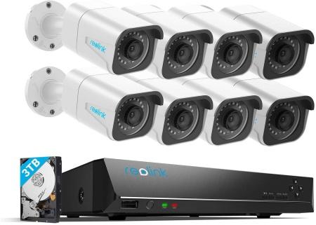 Reolink 8 channel nvr system kit