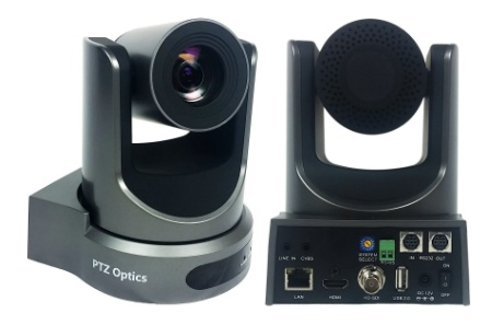 PTZ Optic 20x webcam for conference room